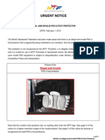 20130201_Urgent Notice on Invalid and Illegal PSS E-foot Protector
