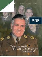 Rvsta de Carabineros Sentirse Orgulloso de Ser Carabinero Muerte Gnrl Bernales 641 Set2008