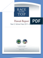 Race to the Top Hawaii Report Year 2 (School year 2011-2012)