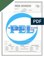 Capacitance & Dissipation Factor