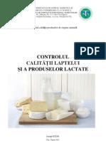 Controlul Calitatii Laptelui