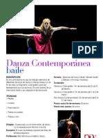 Ficha Danza Contemporanea (1)
