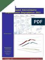 Οικονομικά Αποτελέσματα Ασφαλιστικών Εταιρειών 2011
