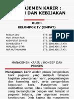 manajemen karir