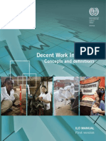 decent work indicators