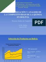 Competividad de La Quinua