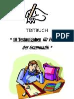 10 aufgaben fur Fitsein in der Grammatik