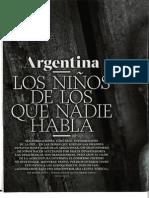 Pesticidas y OMG Efectos en Argentina