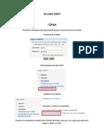 Configuraciones DHCP