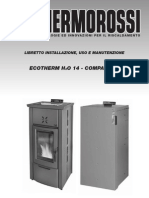Thermorossi pellete stove user manual