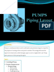 Pump Piping Layout