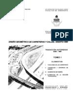 Diseño geométrico de carreteras y calles AASTHO-1994