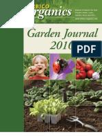 Garden Journal 2010 - Arbico Organics