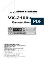VX-2100 Owner's Manual