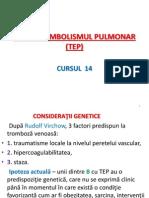 Tromboembolismul Pulmonar