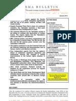 Jan2013 ALTSEAN Burma Bulletin