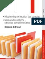 Dossiers de travail - Mission de présentation des comptes