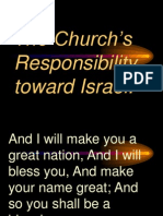 The Church's Responsibility toward Israel