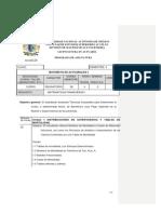 Temario Matematicas Actuariales I