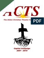 fund raising brochure