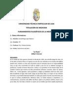 Analisis La Peste. David Mogrovejo Palacios