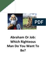 Abraham or Job