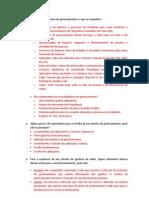Questionario Gerenciamento de Redes - P2 - Completo
