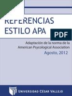 Manual Apa 2012 II