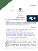 Legea cu privire la petiţionare nr.190-XIII din 19 iulie 1994