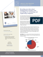 Education Entrepreneurship and Immigration Fact Sheet