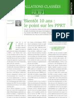 Point Sur Les PPRT
