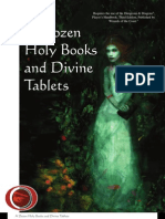 (d20) a Dozen Holy Books and Divine Tablets