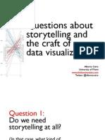 Storytelling with visualization