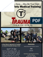 Public Safety Medical Training from T2