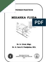 Panduan Praktikum Mekanika Fluida