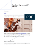 Email Is The New Pony Express