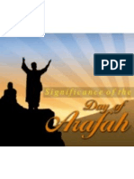 Significance of Arafah
