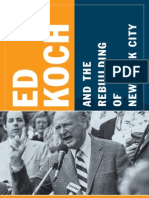 Ed Koch and the Rebuilding of New York City -- Jonathan Soffer