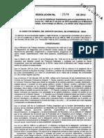 Res+2578+de+2012 +SENA +Trabajos+Altura