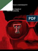 Texas Tech Economic Impact Report