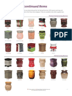 Scentsy Discontinued Product 2013