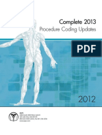 2013 Procedure Coding Updates