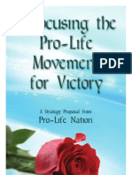 Refocusing the Prolife Movement for Victory