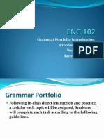 Grammar Portfolio Intro