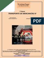 Y Vasca. TRANSPORTE DE MERCANCIAS IV (Es) Basque High-Speed. FREIGHT TRANSPORT IV (Es) Euskal Y. MERKANTZIEN GARRAIOA IV (Es)