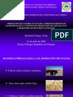 Presentación de Heriberto Franco Taller Industria Azucarera 2005 UNACHI