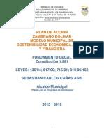 Plan de Accion Zambrano Bolivar 2013