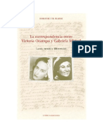 Cartas Gabriela-Victoria Ocampo