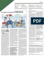 Diario Gestión - Repatriando talentos