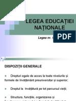 lege educatiei nationale